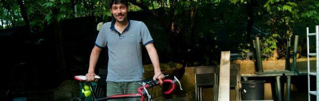 """Giro d'Italia alternativo del cuoco/cronista: """"Spostarsi solo in bici è possibile"""""""
