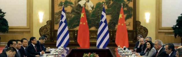 Incontro Grecia - Cina