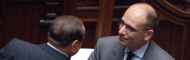 Incontro Letta-Berlusconi, deciso il rinvio dell'aumento dell'Iva  di tre mesi