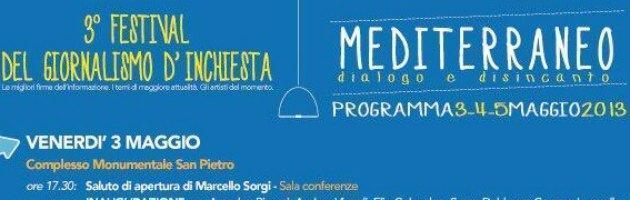 """""""Festival del Giornalismo d'Inchiesta"""" a Marsala: i dibattiti dalla mafia alla crisi"""