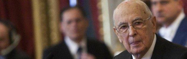 """Napolitano: """"Pm abbiano senso limite"""". E rilancia la riforma della giustizia"""
