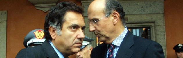 Alessando Pansa e Antonio Manganelli