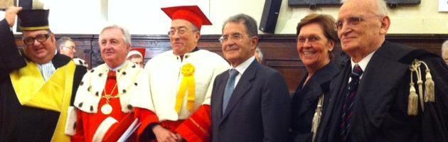 """Prodi a Parma: """"E' un fatto che io per questa Repubblica non esista"""""""