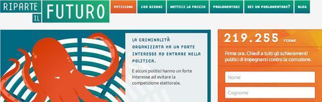 """""""Riparte il futuro"""", l'iniziativa di Libera e Gruppo Abele per contrastare la corruzione"""