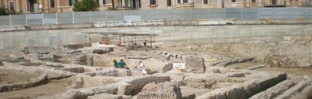 Roma, palazzi di 11 piani vicino ai reperti archeologici di 650mila anni fa