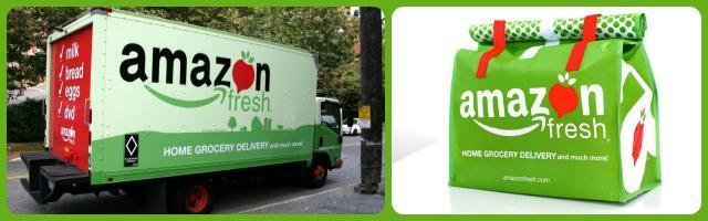 Amazon Fresh, al via il commercio online di alimentari
