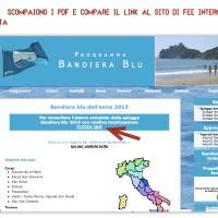2- Il sito di Bandiera Blu dopo la telefonata del Fatto