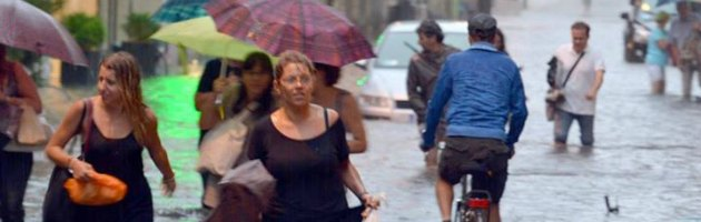 Pioggia a Rimini