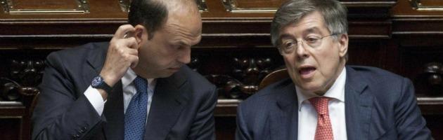 Angelino Alfano e Flavio Zanonato