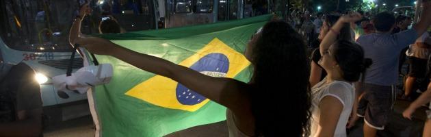 Confederations Cup, Italia-Brasile protetta dall'esercito in assetto antisommossa