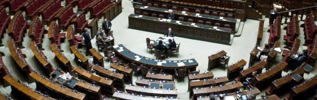 Camera dei Deputati - Aula deserta