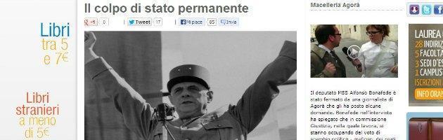 """Movimento 5 Stelle, Becchi sul blog di Grillo: """"Colpo di Stato permanente"""""""