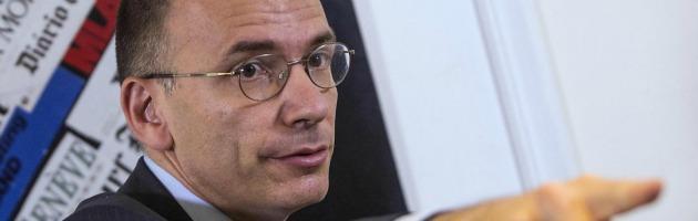 """Iva, Letta: """"L'aumento deciso da Berlusconi. Sono fiducioso ma no a diktat"""""""