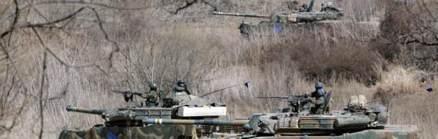 Il paradosso del parco naturale dell'Alta Murgia: carri armati nell'area protetta