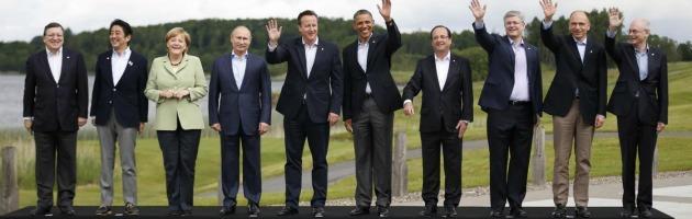 """G8, i leader: """"Priorità è la crescita"""". Nessun riferimento ad Assad"""