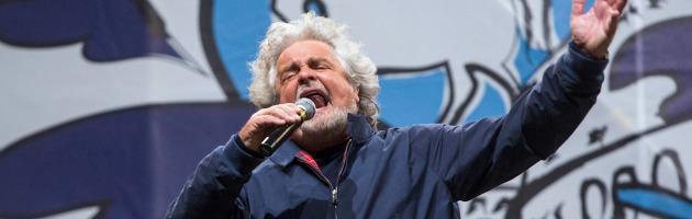 """Beppe Grillo contro i giornalisti: """"Non possono infestare Camera e Senato"""""""