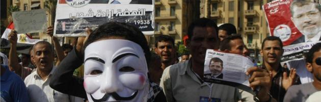 Manifestazione anti Morsi in Egitto