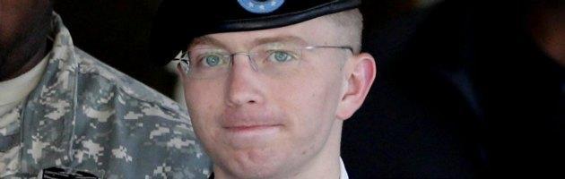 Wikileaks, soldato Manning condannato a 35 anni di carcere