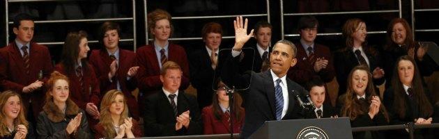 Obama al G8, elogia la pace ma non è più l'uomo del cambiamento