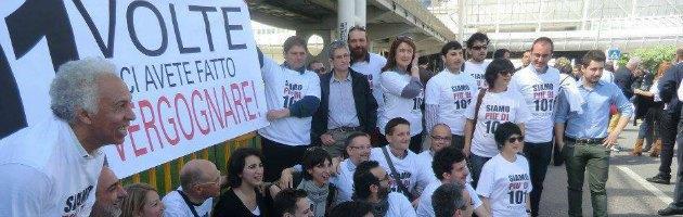 """Occupy Pd, Zampa: """"Riflettere su nuove maggioranze"""""""