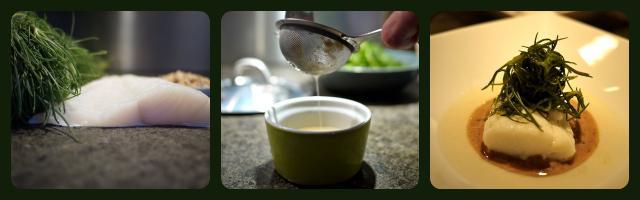 La ricetta di Alessia Vicari: baccalà con agretti e crema di nocciole