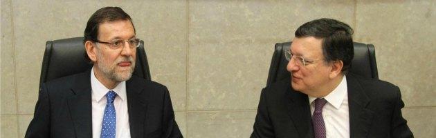 Mariano Rajoy e Jose Manuel Barroso