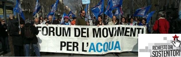 Acqua pubblica, a due anni dal referendum poco (o nulla) è cambiato