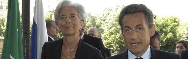 """Francia, quando Lagarde scrisse a Sarkozy: """"Al tuo fianco per servirti. Utilizzami"""""""