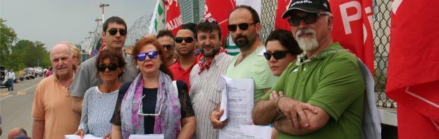 Sciopero Vigili Parma