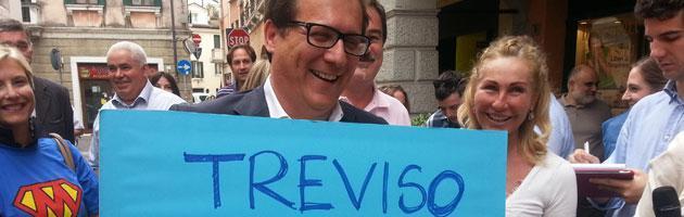 """Elezioni Treviso 2013, l'ex sindaco Gentilini: """"Fine di un'era, mi ritiro"""""""