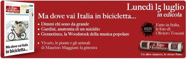Il Fatto del lunedì: ma dove vai Italia in bicicletta
