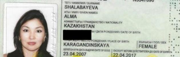 """Shalabayeva, Interpol: """"Passaporto centrafricano risulta falsificato"""""""