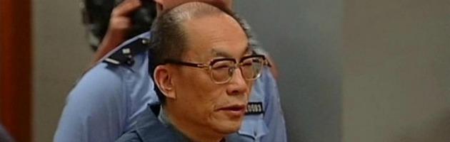 Cina, corruzione e abuso di potere: pena di morte (sospesa) per ex ministro