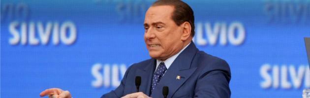 """Berlusconi: """"Condanna non probabile in Cassazione. Sostegno al governo"""""""