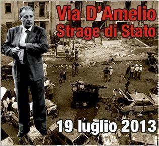 21 anni fa moriva Paolo Borsellino. Dalle 15:30 la diretta streaming da Via D'amelio