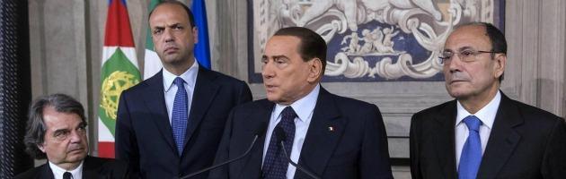 """Berlusconi, ultimatum al Pd: """"Discussione legge Severino o crisi di governo"""""""