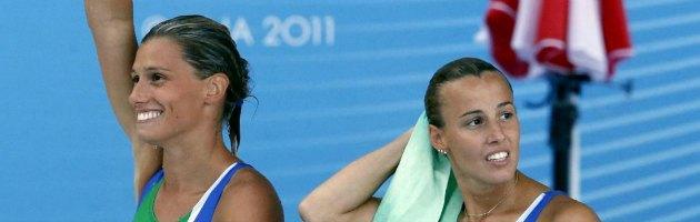 Tania Cagnotto e Francesca Dallapè, medaglia d'argento ai Mondiali di nuoto