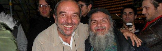 Giampiero Calderoni e Vauro