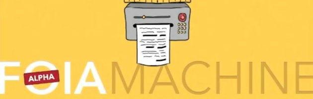 """Usa, progetto """"Foia Machine"""": libertà d'informazione via crowdfunding"""