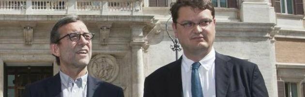 Roberto Giachetti e Gennaro Migliore