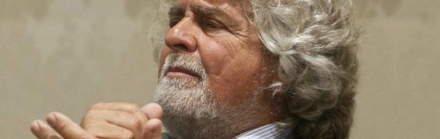 """Grillo: """"Al voto subito con il Porcellum. Napolitano si deve dimettere"""""""