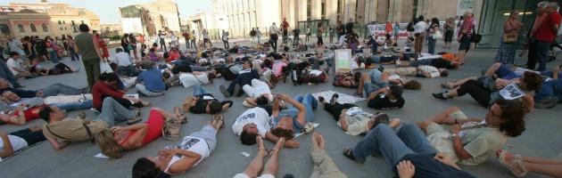 Flash Mob Nino Di Matteo - Palermo