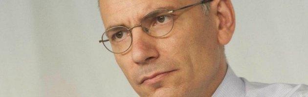 """Fisco, Letta: """"Stop sperpero per lobby Tempi sono cambiati per chi ha evaso"""""""