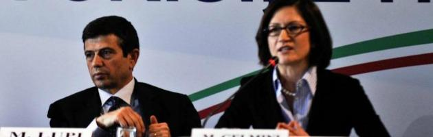 Maurizio Lupi e Mariastella Gelmini