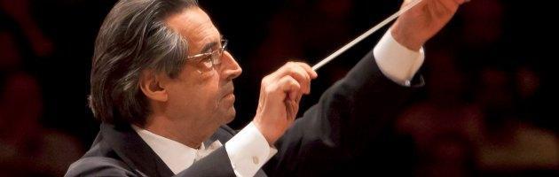 """Mirandola, Muti al Concerto dell'amicizia: """"La musica per le vittime del terremoto"""""""