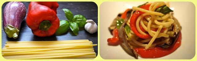 La ricetta di Alessia Vicari: pasta peperoni e melanzane, un matrimonio siciliano