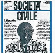 Ligresti - la copertina di Società Civile