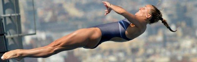 Tania Cagnotto, medaglia d'argento nel trampolino da 1 metro