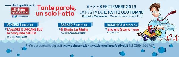 """Versiliana 2013, programma e ospiti: """"Tante parole, un solo Fatto"""""""