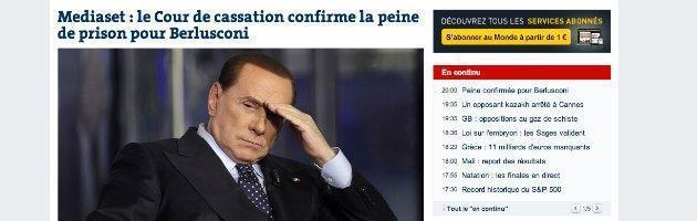 Berlusconi condannato - Le Monde